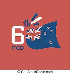 6 feb waitangi flag day - 6tb waitangi day