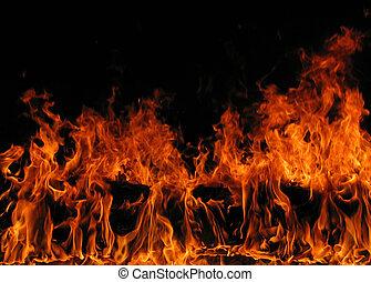 6, flamme
