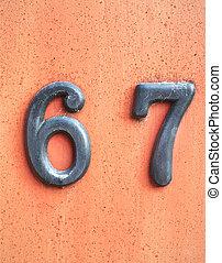 6, huisnummer, 7