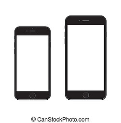 6, nouveau, iphone, smartphone