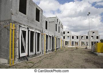 6, site, construction