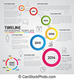 6-Step process infographics