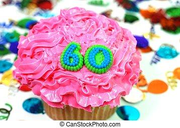60, 祝福, -, 数, cupcake