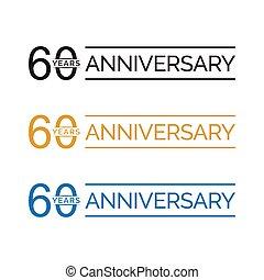 60 anniversary years