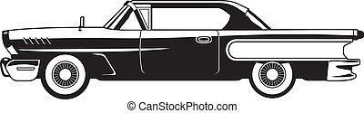 60, -, klassieke auto's