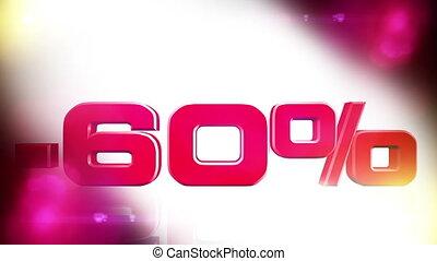 60 percent OFF 01 - 60 percent OFF discount animation