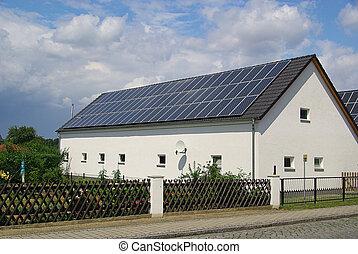 60, planta, solar