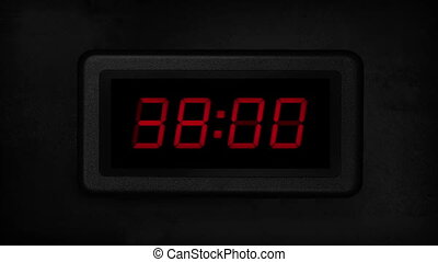 60 Second Timer Unit - Digital timer display counts down...