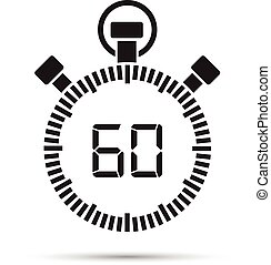 60, secondo, timer