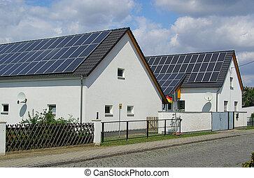 61, planta, solar