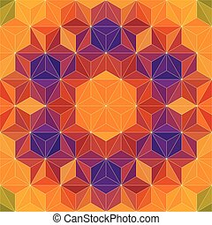 62 - Vector Abstract Mosaic Pattern or Background