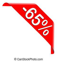 65 Percent Discount Offer