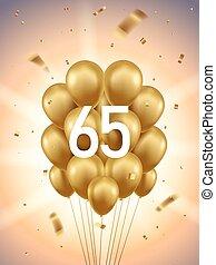 65th Year Anniversary Background