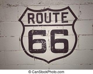 66 , δρόμος , αναχωρώ.