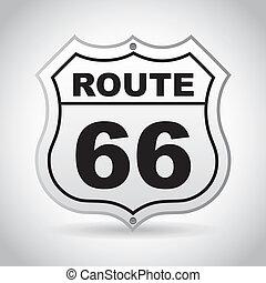 66, parcours