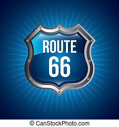 66, tracciato