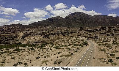 68., ruta, argentina., cafayate, salta., título