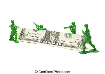 699 green toy soldiers