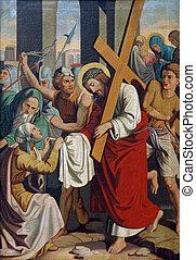 6º, crucifixos, estações