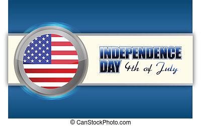 7月4 日, 天, 獨立