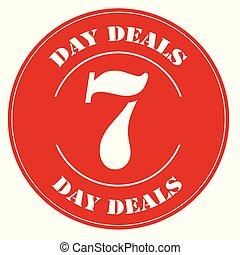 7 Day Deals-label