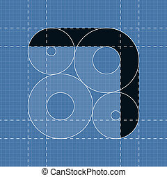 7, símbolo, engenharia, font., redondo