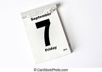 7. September 2012