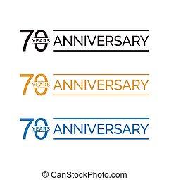 70 anniversary years