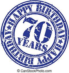 70 , grunge , ευτυχισμένος , rubb , γενέθλια , χρόνια