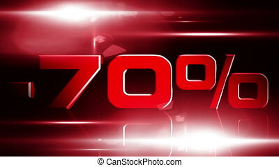 70 percent OFF 03 - 70 percent OFF discount animation
