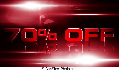 70 percent OFF 04 - 70 percent OFF discount animation