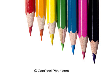 Image of colorful pencils