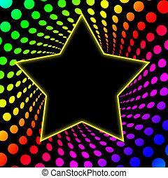 70\'s Superstar Rainbo Twirl - Great superstar frame in a...