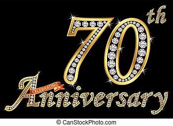 70th, μικροβιοφορέας , χρυσαφένιος , γιορτάζω , επέτειος , ...