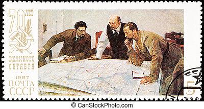 70th, revolution., στρατηγική , generals., ρώσσος , επέτειος...