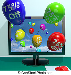 75% Off Balloons From Computer Shows Sale Discount Of Seventy Five Percent Online