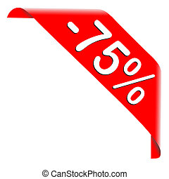 75 Percent Discount Offer