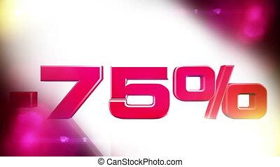 75 percent OFF 01