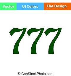 777, アイコン