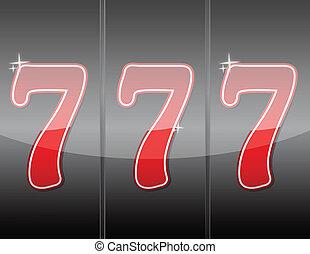 777. Winning in slot machine