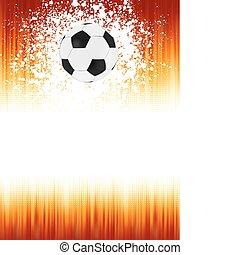 8, フットボール, 旗, eps, ball.