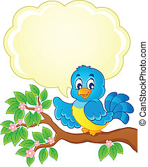 8, 主題, 鳥, イメージ
