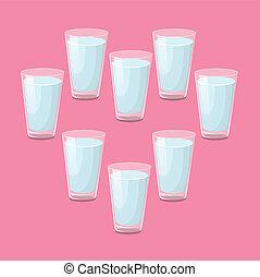 8, 杯水, a, 天
