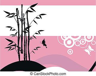 8, 竹, 背景