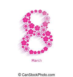 8, 3月
