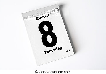8., augusti, 2013