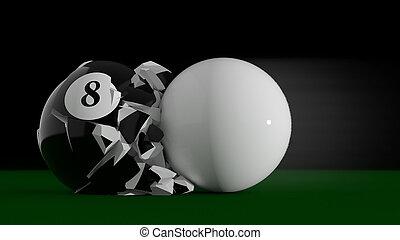 8 Ball collision