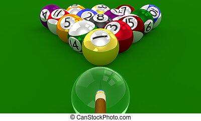 8 Ball Pool 3D - Racked for Shot