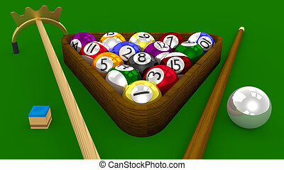 8 Ball Pool 3D with Accessories