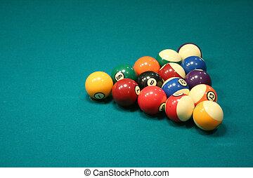 8 ball rack